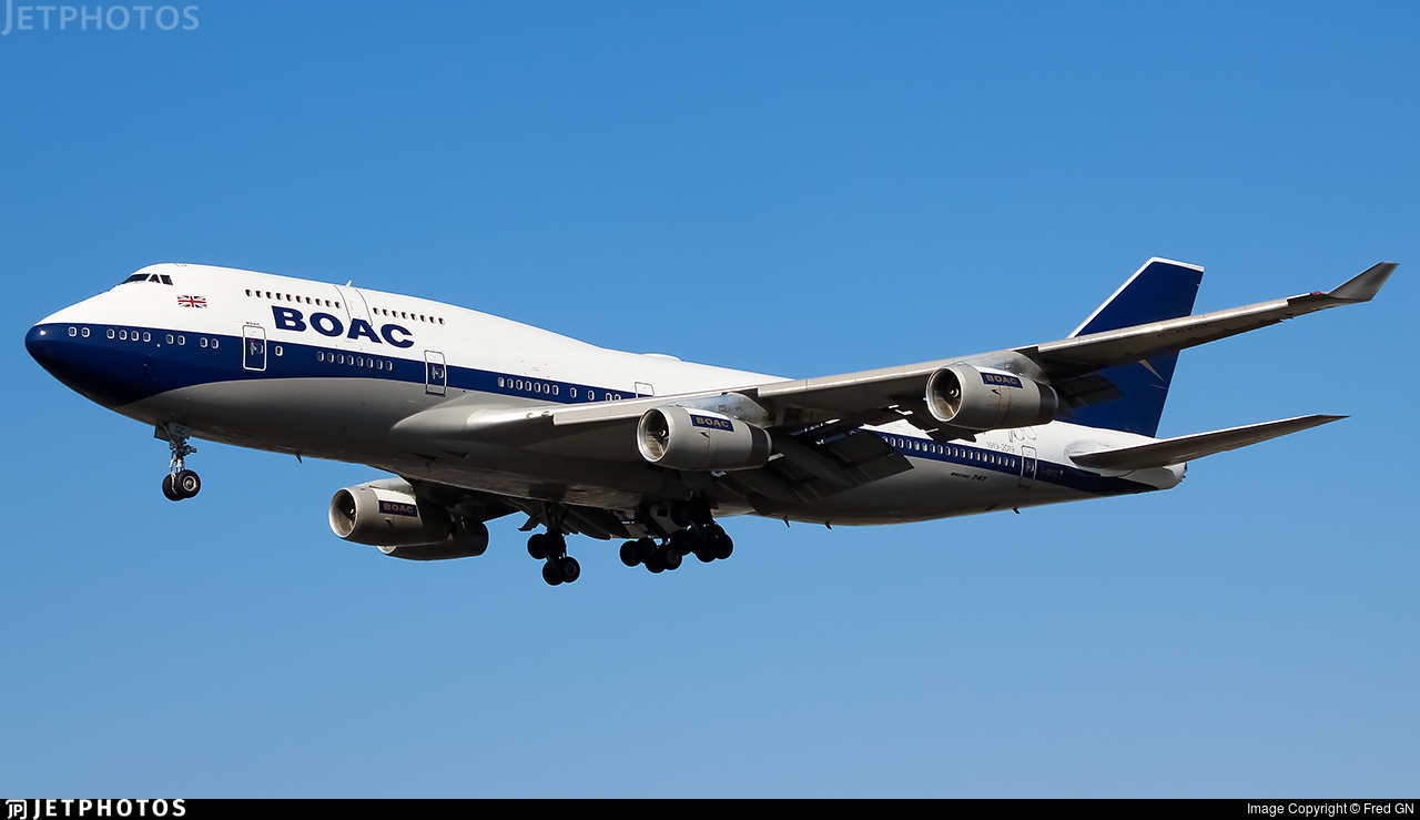 British Airways 747 BOAC what made it special pilot