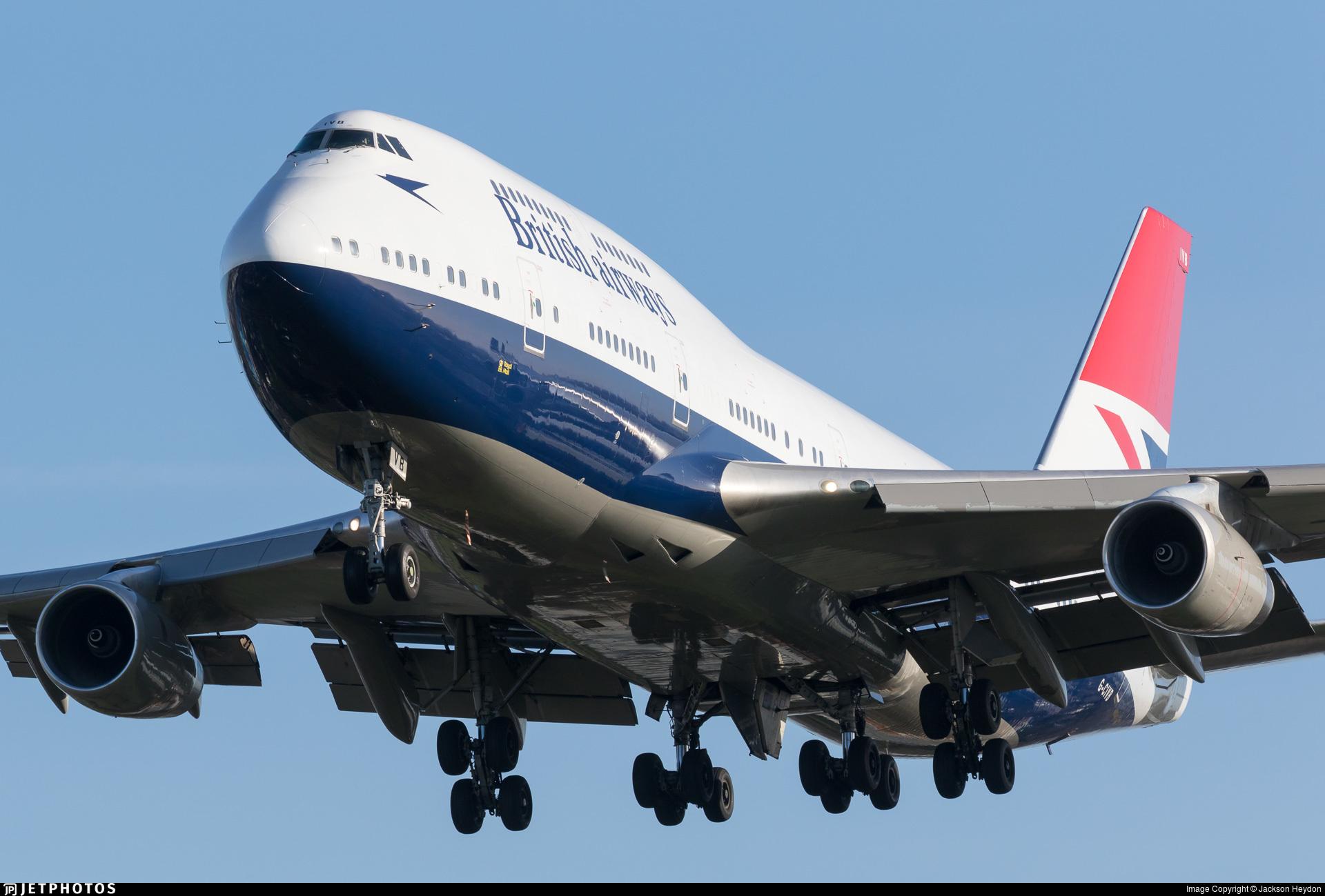 British Airways 747 pilot