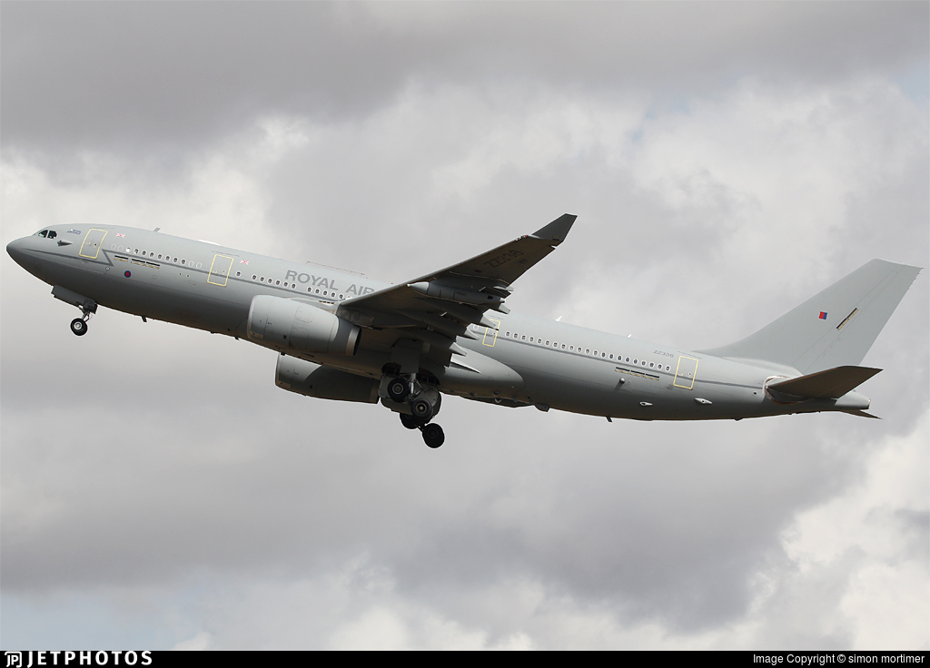 RAF Ministry of Defence Brize Norton Ascension Falklands Mount Pleasant A330 Airbus