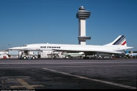 Air France Concord AF001 flight 1 New York JFK