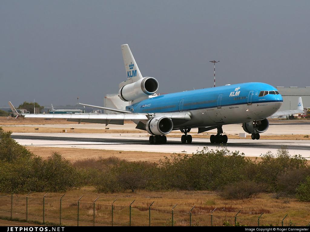 KLM Bonaire Dutch Antilles Amsterdam