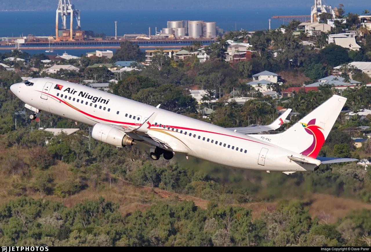 Air Niugini Port Moresby Sydney Australia PX1
