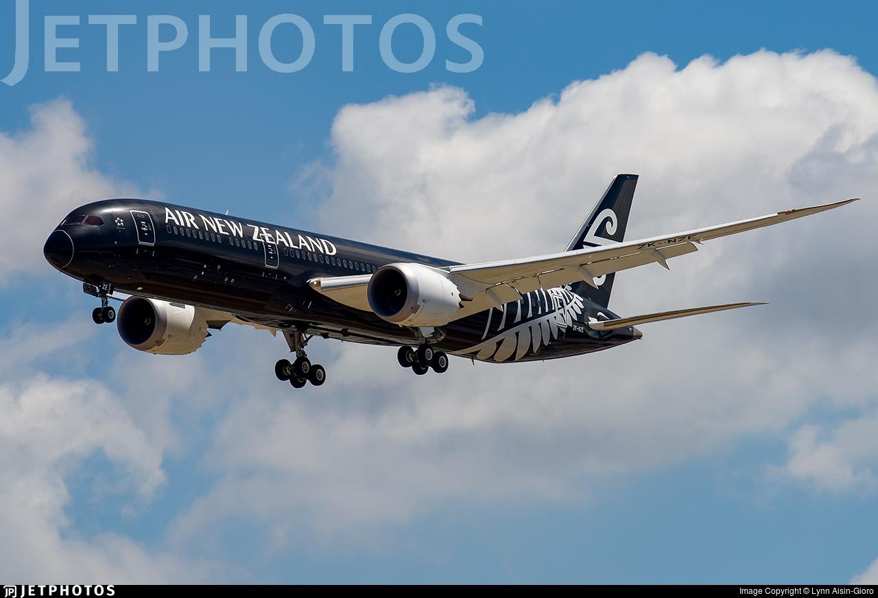 Air New Zealand NZ LAX AKL EWR flight number 1 NZ1