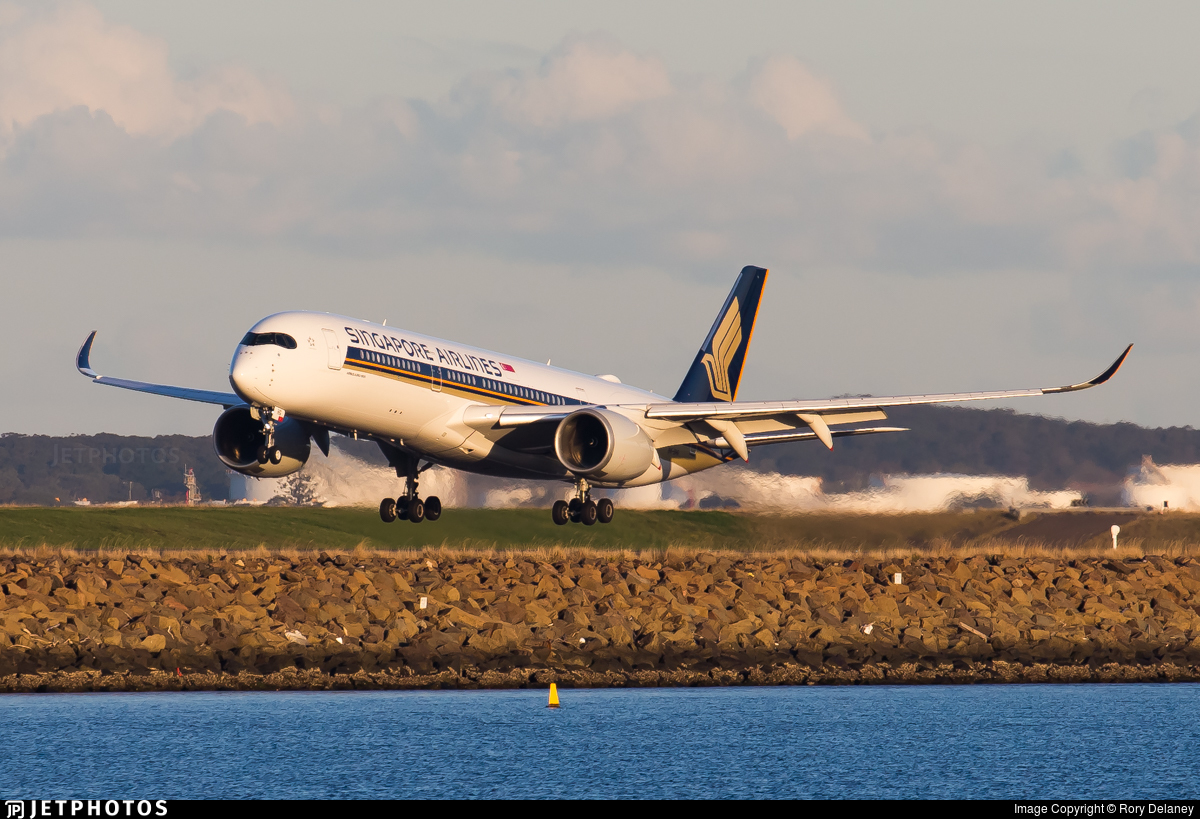 Singapore Airlines SQ A350