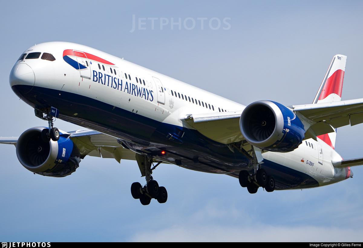 British Airways 787 dreamliner