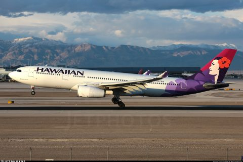Longest domestic flights in the world Hawaiian Airlines A330 Honolulu HNL