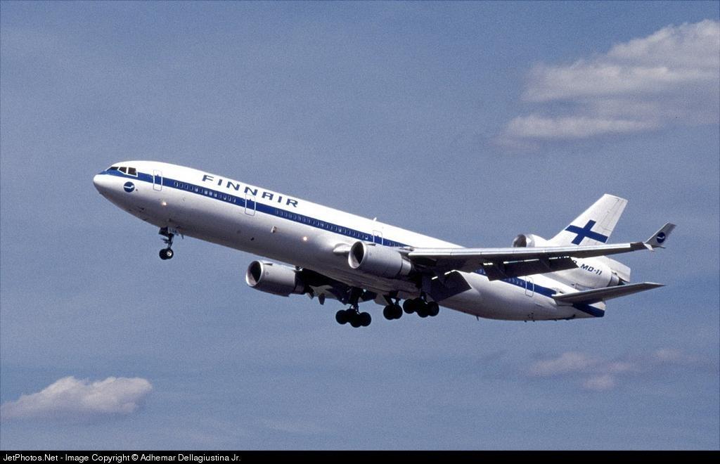 Finnair IATA two-digit code airline history legend