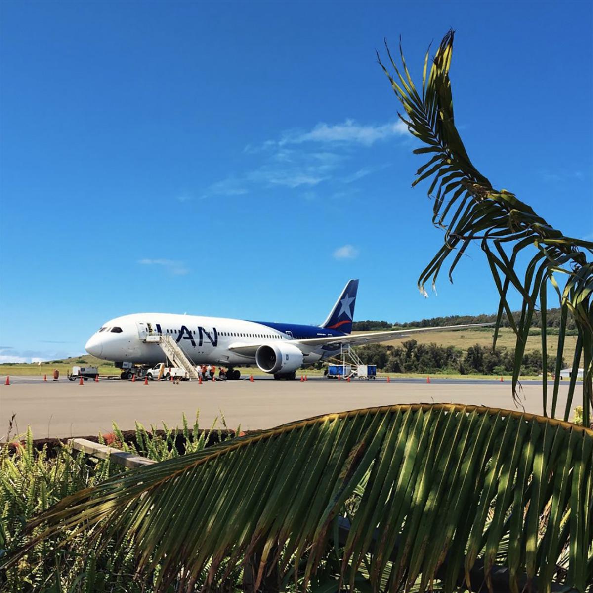 LATAM LAN 787 Dreamliner Easter Island Rapa Nui Isla de Pascua IPC airport codes history
