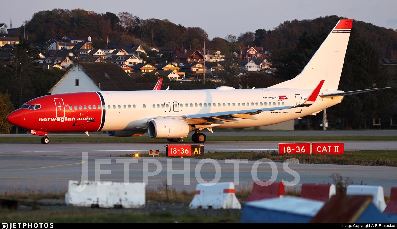 Is the end near for Norwegian? 737-800 in Stavanger