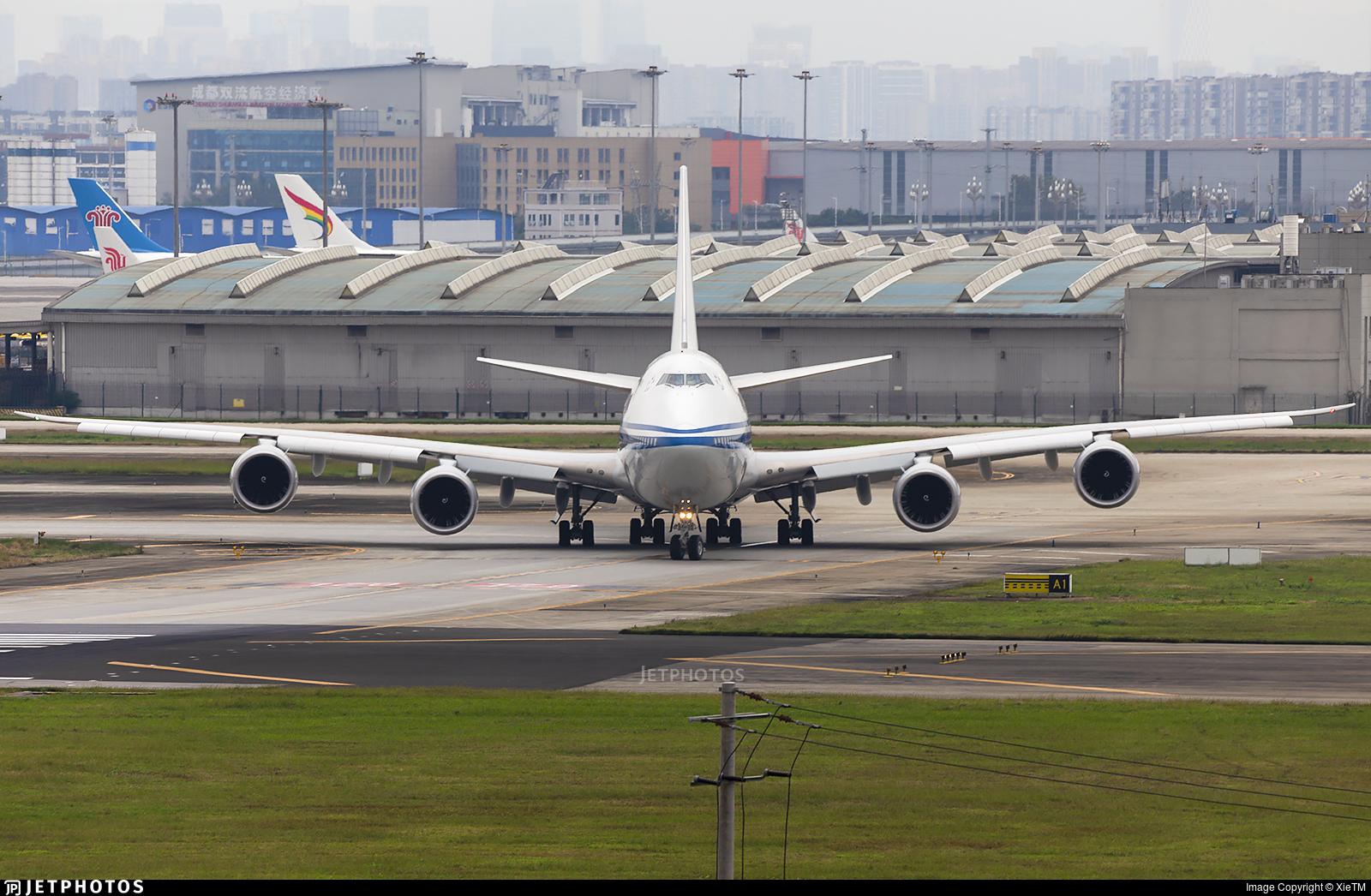 Air China Boeing 747 747-8I Chengdu China here's where you can spot them 747s still flying