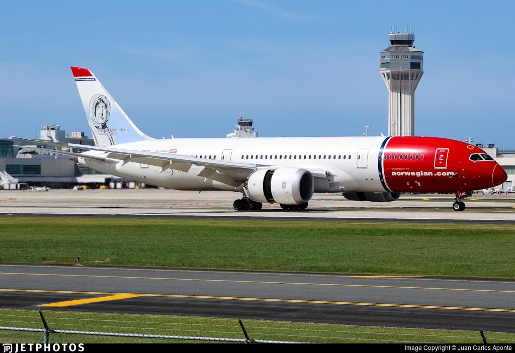 Norwegian 787 Dreamliner San Juan SJU Puerto Rico