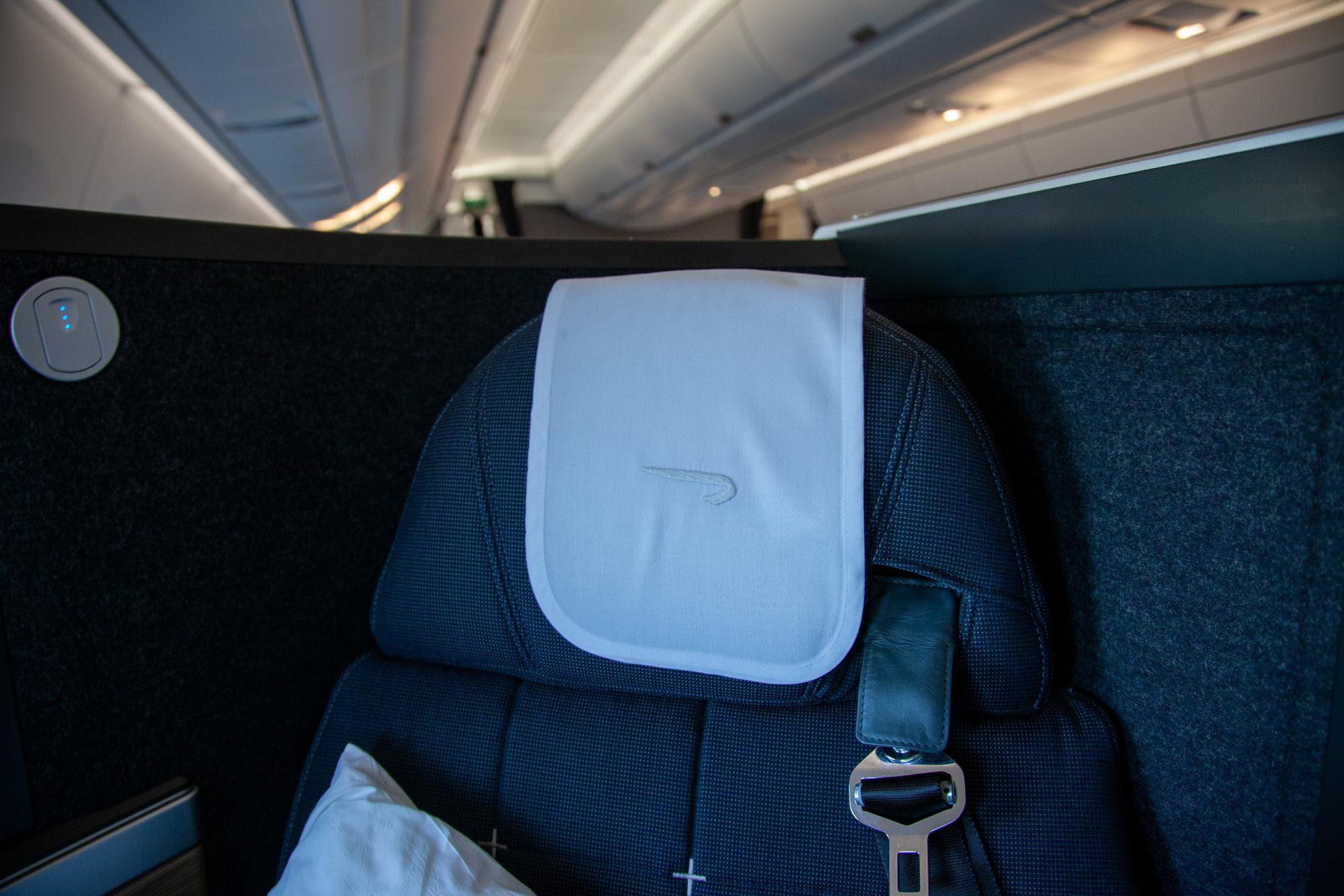 British Airways business class Club World Club Suites A350