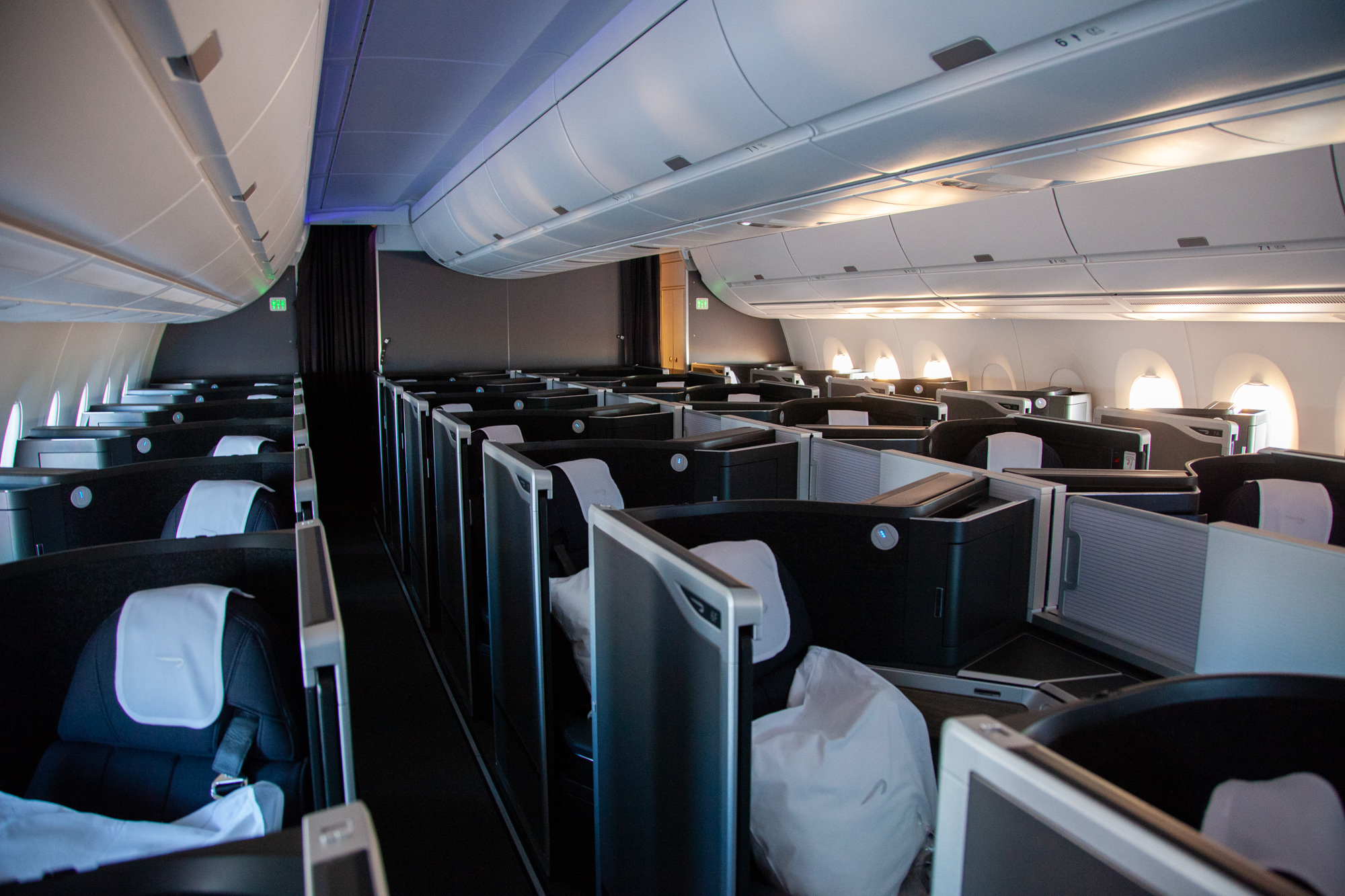 British Airways A350 35K empty business class cabin how network has fared this autumn