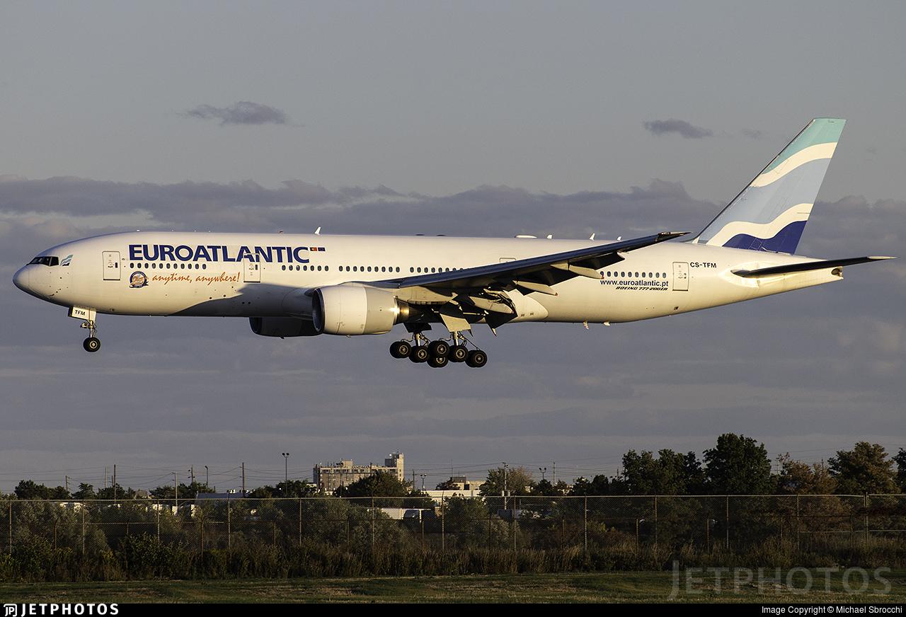 EuroAtlantic charter 777 Toronto