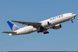 United Airlines 777 N772UA the airplane that operated UA328
