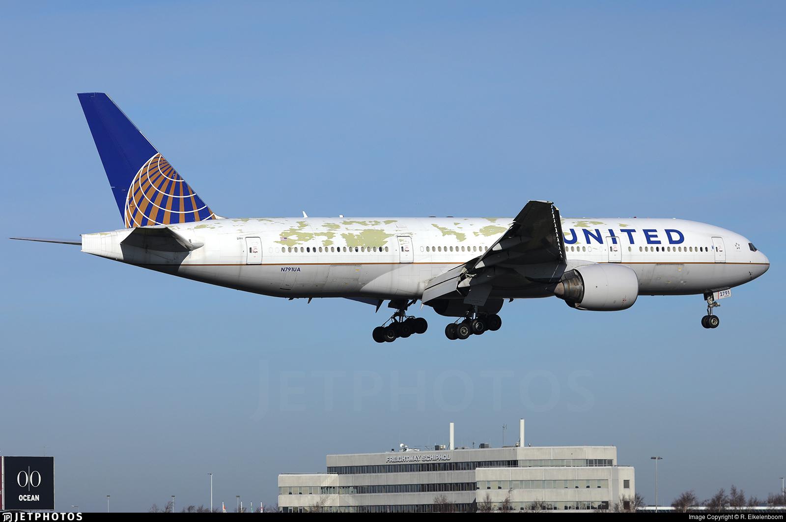 N791UA United 777-200 engine failure Pratt & Whitney PW4000 where all the 777s are grounding