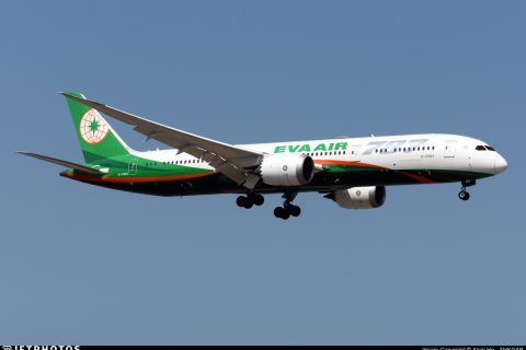 Aircraft leasing EVA Air 787-10