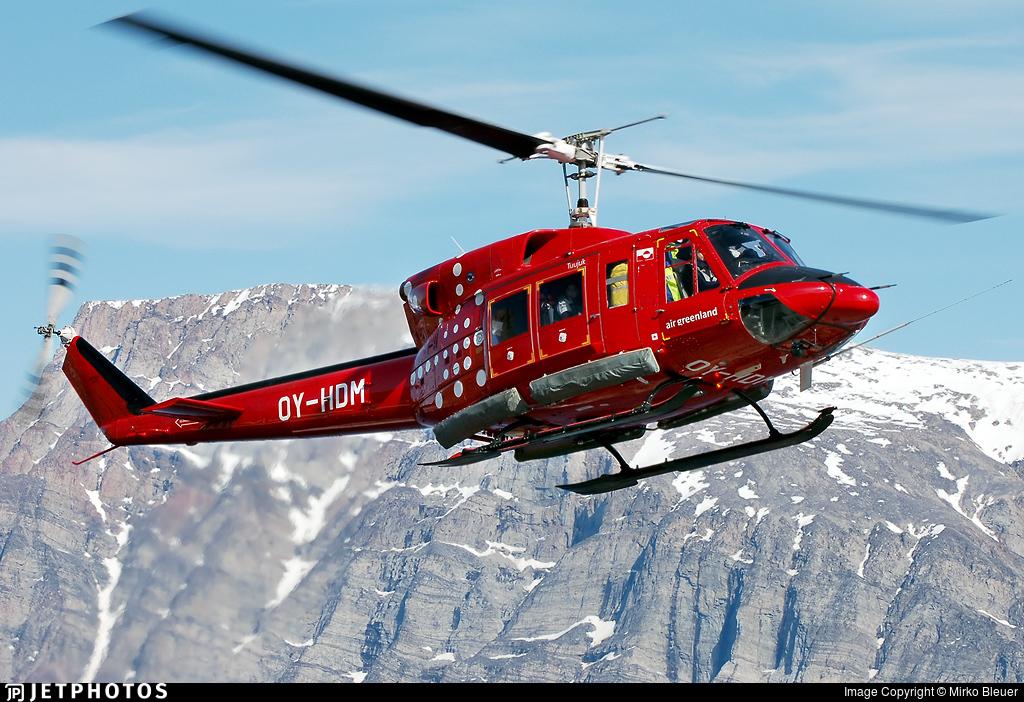 Air Greenland Bell 212