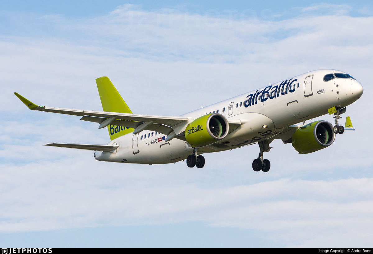 A chat with airbaltic CEO Airbus A220 Martin Gauss