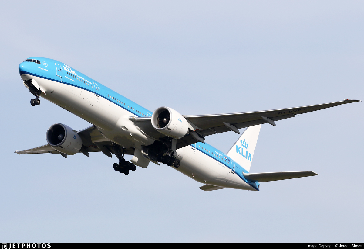 KLM Royal Dutch Airlines future Boeing 777
