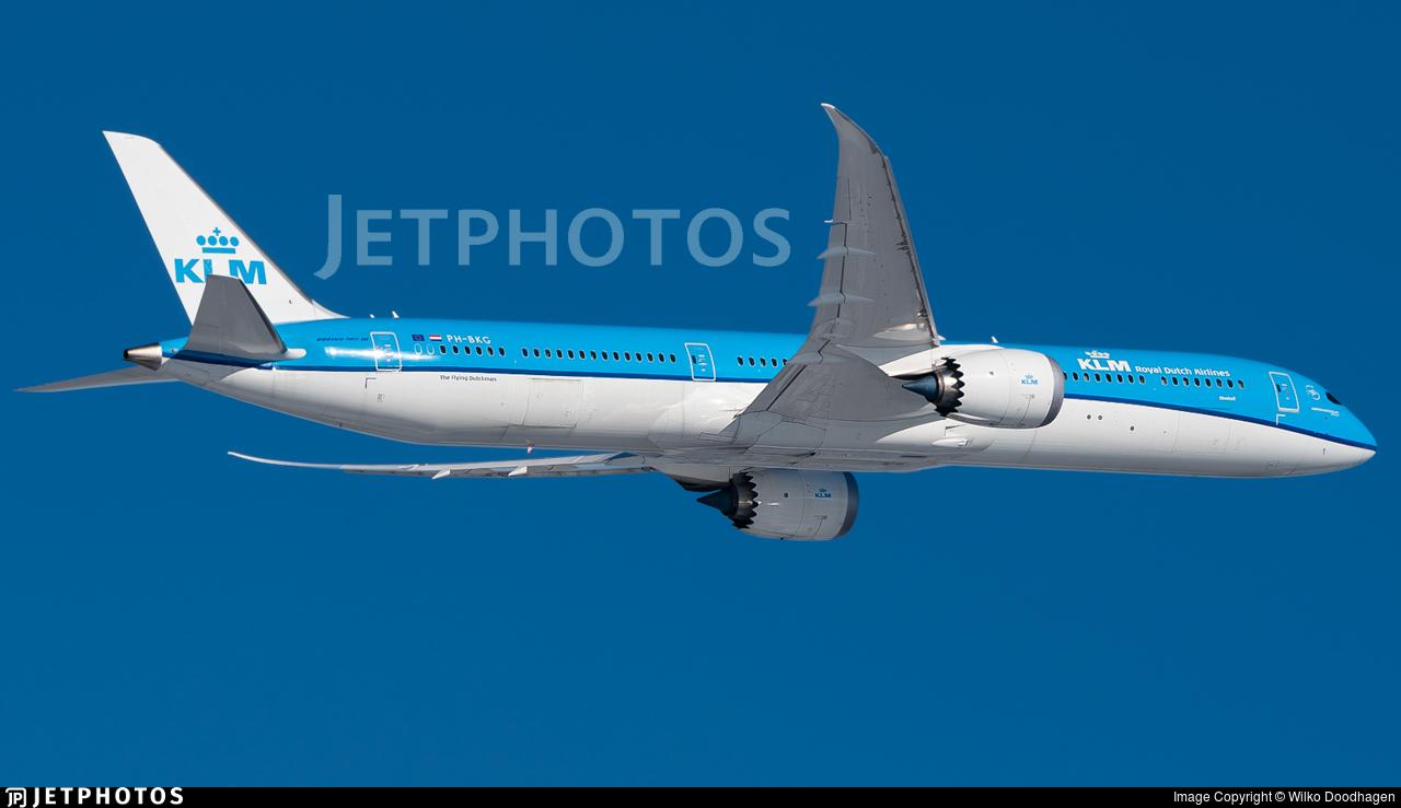 KLM Royal Dutch Airlines 787 Dreamliner Amsterdam
