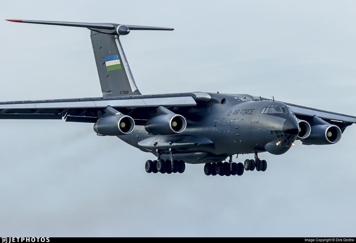 Cargo beast Ilyushin IL-76