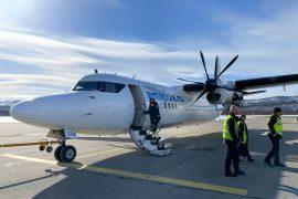 Amapola Sweden's little known Fokker 50 airline