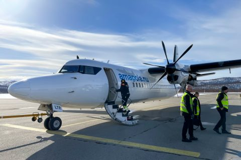 Amapola Sweden's little known Fokker 50 airline