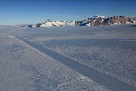 Antarctica Runway