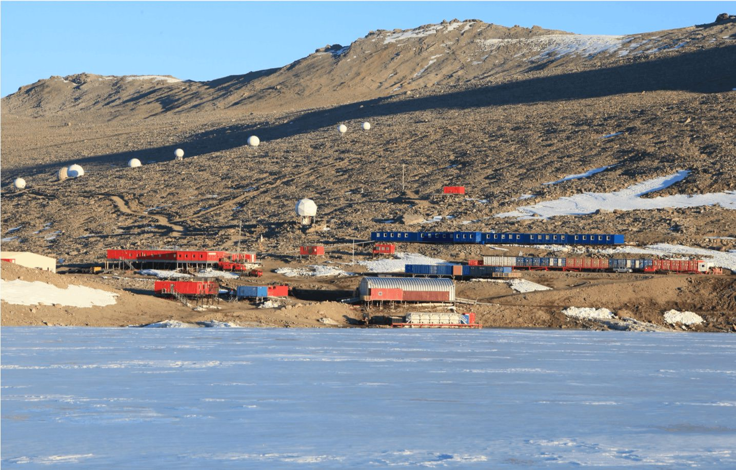 Troll Research Station in Antarctica