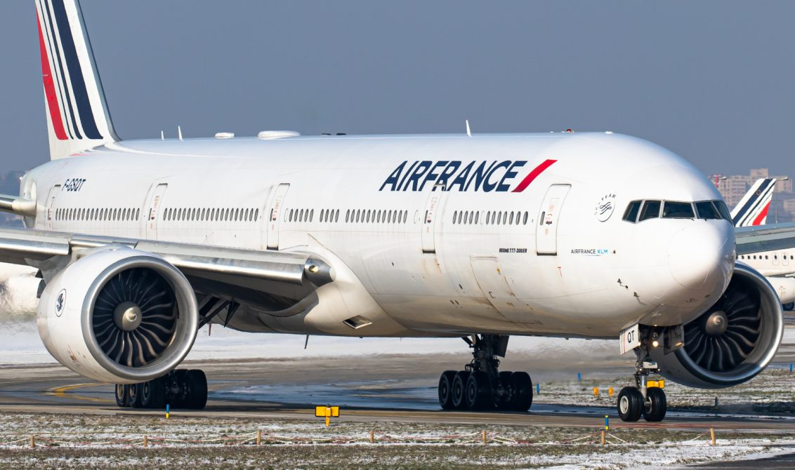 flying Air France long-haul business class 777-300ER Boeing