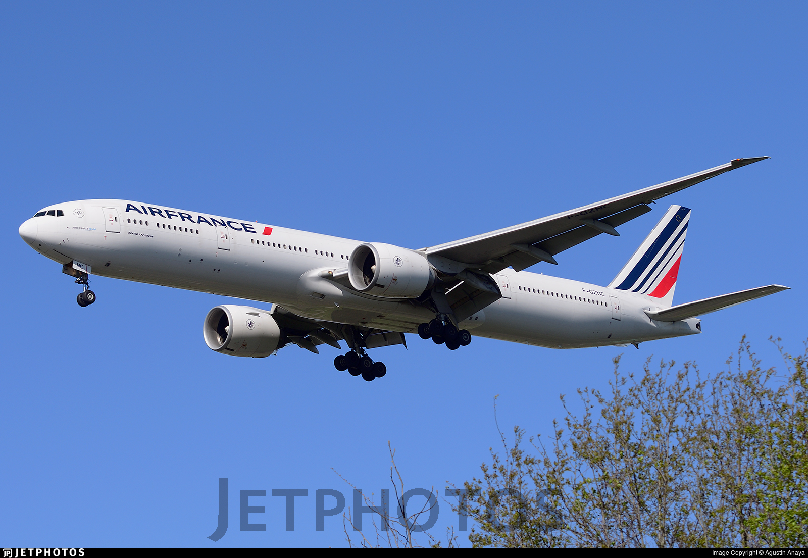 Air France business class 777-300ER
