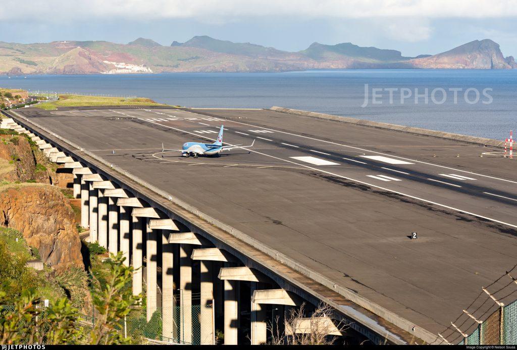 Funchal Madeira platform runway architecture innovation