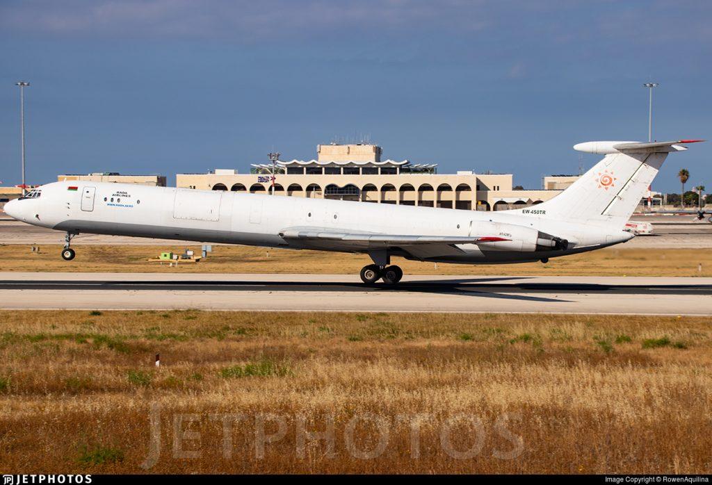 Rada Airlines cargo Ilyushin IL-76