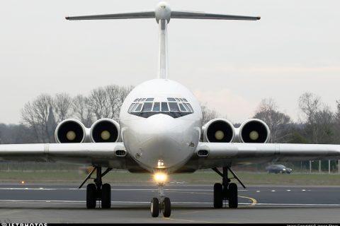 Ilyushin IL-62 Russia Rada Airlines relic