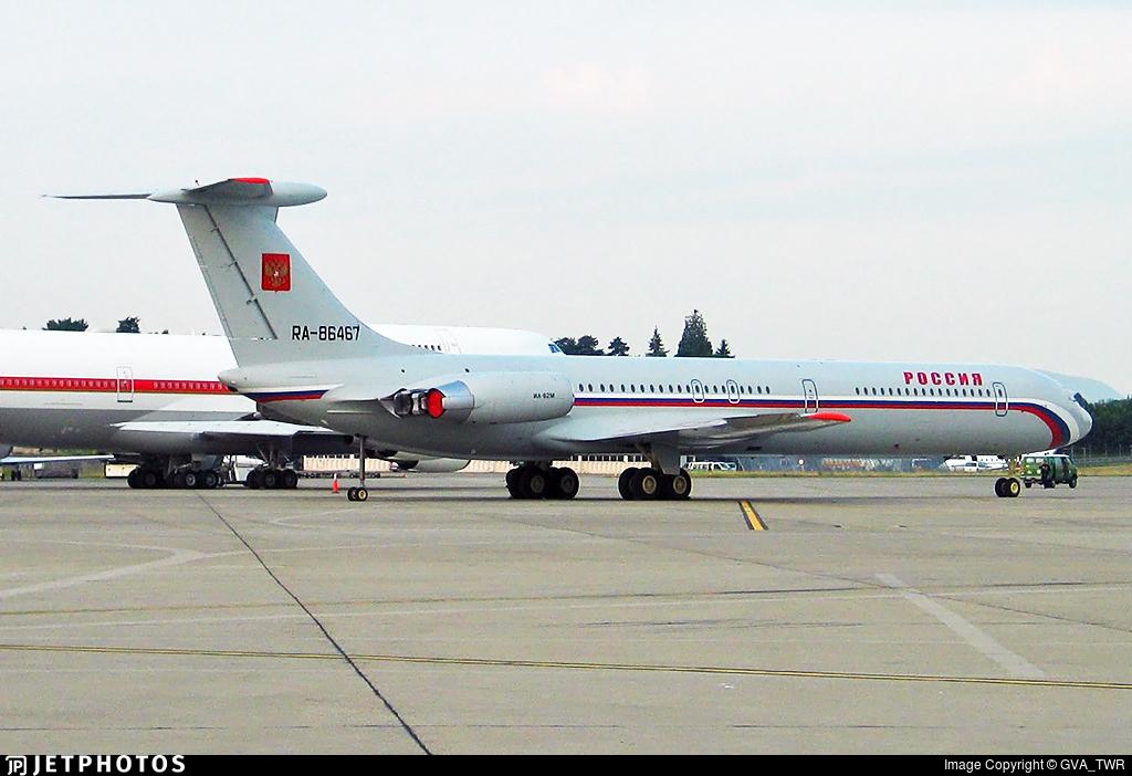 Russia state government official IL-62 Ilyushin