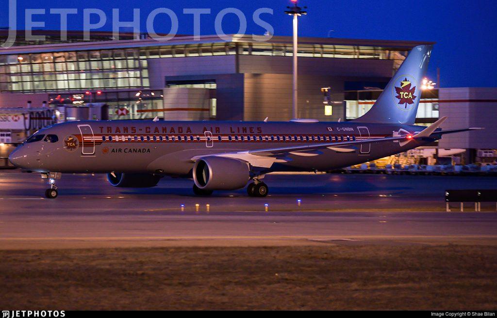 C-GNBN Air Canada A220