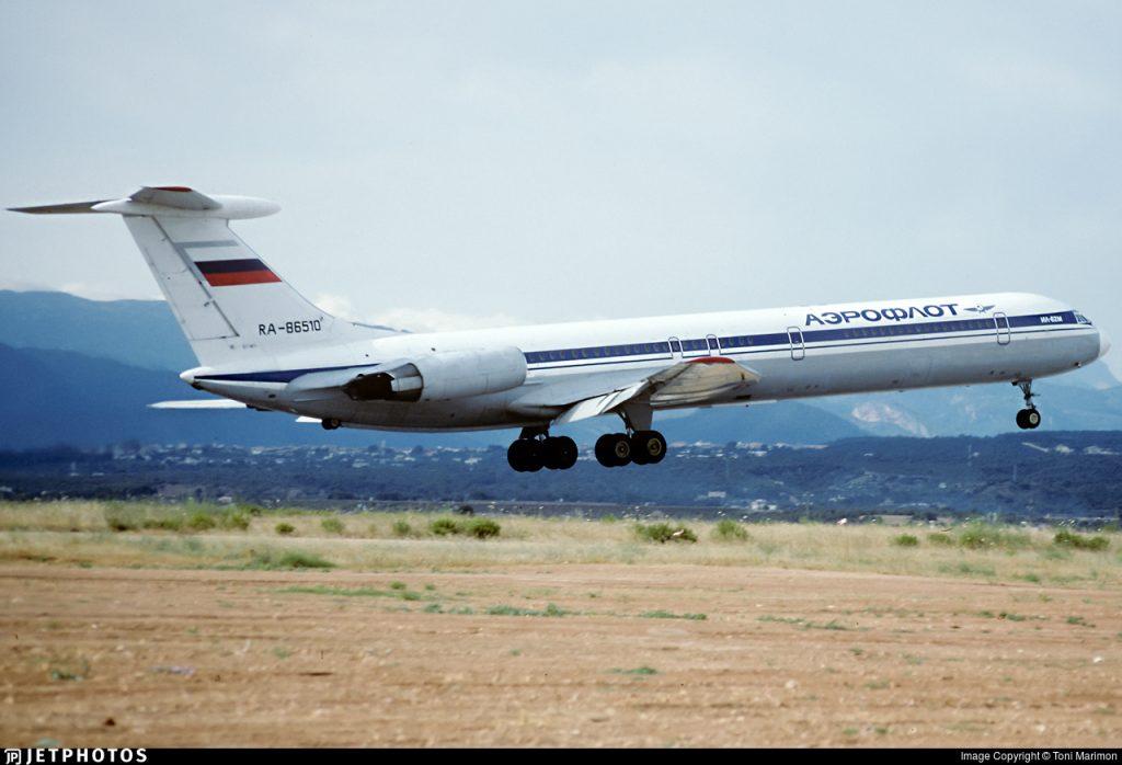 Russia IL-62 Aeroflot