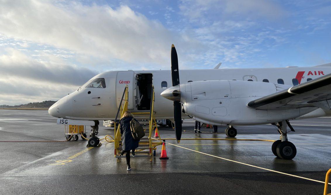 Saab 340 Sweden Air Leap Bromma Stockholm