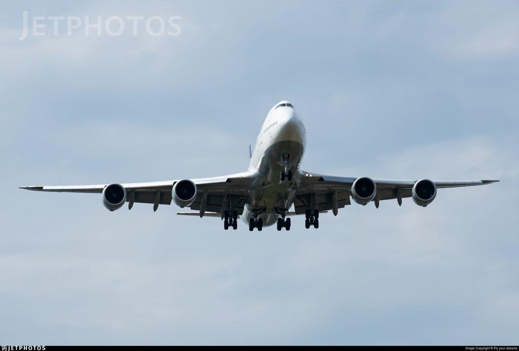 Lufthansa 747 747-8I