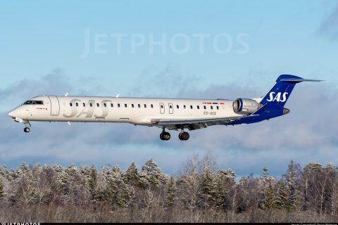 Scandinavian Airlines SAS CRJ-900 Europe underrated
