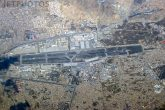 Aerial view of Kabul Airport