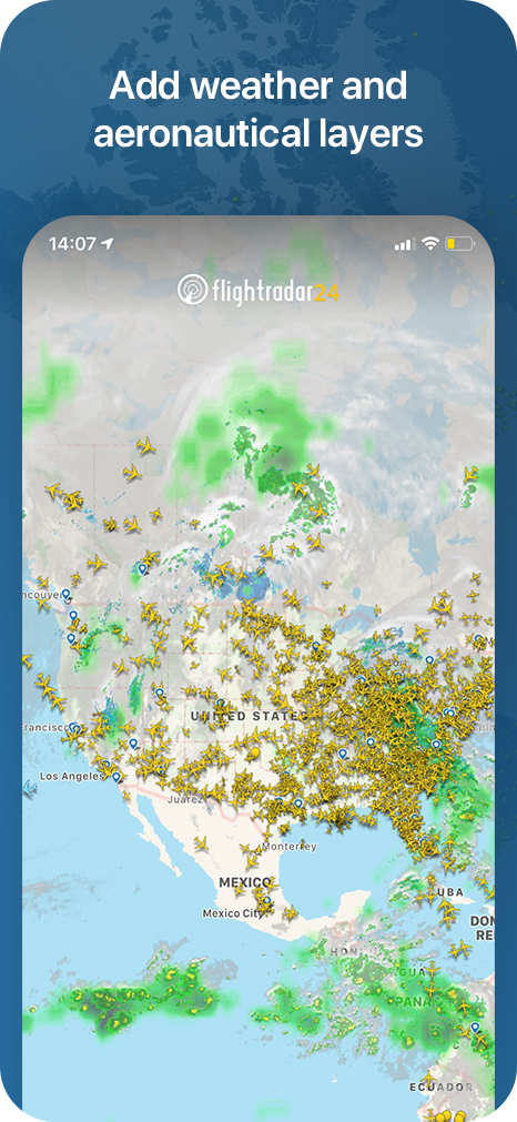 The World's best flight tracker app - iOS & Android plane tracker