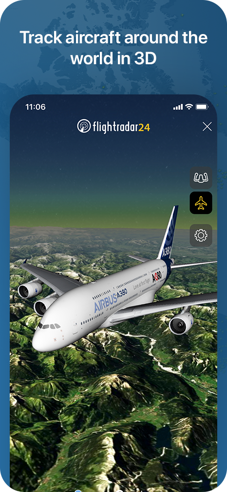 The World's best flight tracker app - iOS & Android plane